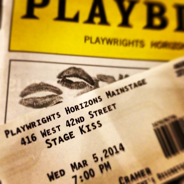 Such an amazing show, awesome night #stagekiss #nyc #playwrightshorizon \U0001f3ac