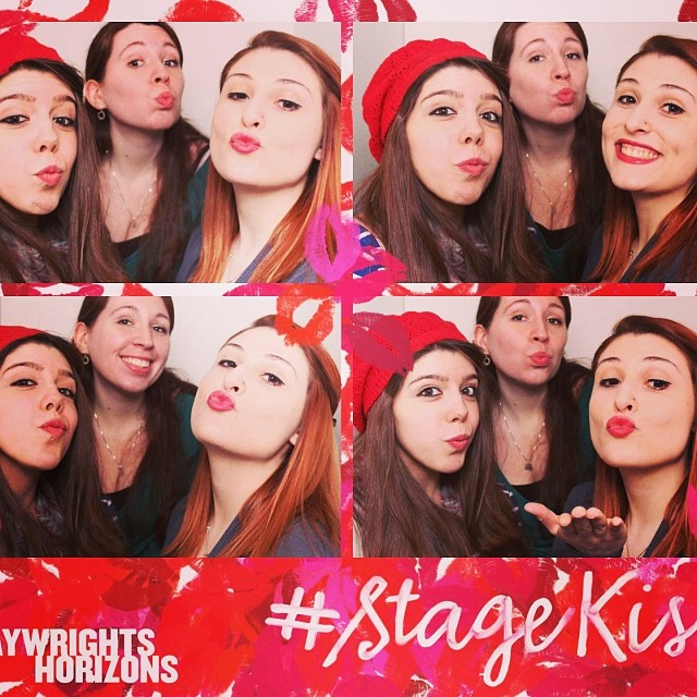 Kissing Booth! #stagekiss #smooch #kiss