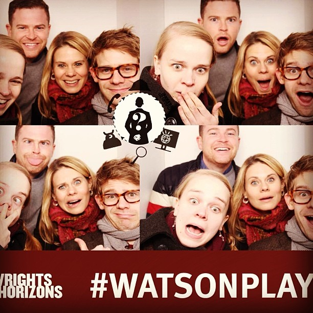 Can't stop thinking about @@conjohnlee and #WatsonPlay at @@phnyc. One of the best plays/performances I've seen in a long time. Also they had a photo booth. Aiiiii-ohh!