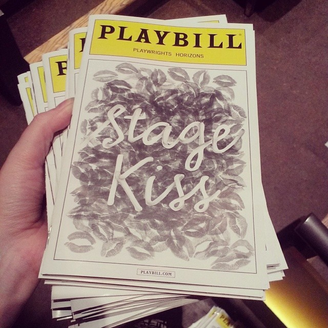 Can't wait for #StageKiss tonight at @phnyc featuring the always fabulous @mccisnauseous
