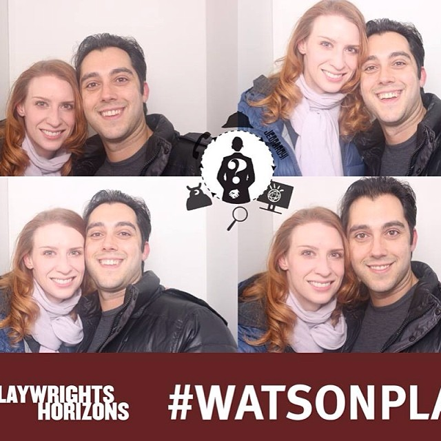 Photo session @phnyc for #WatsonPlay #nofilter #theatre