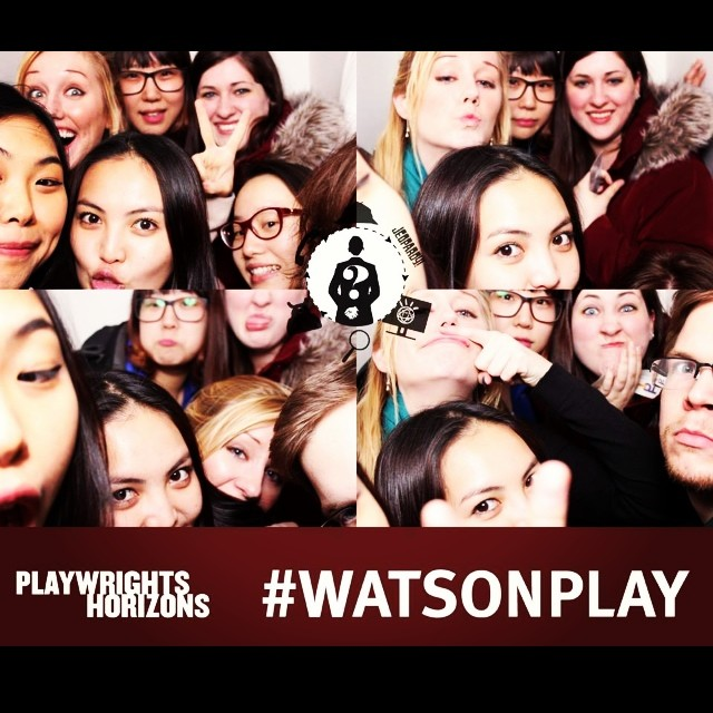Grad students are supposed to be mature? Oops! Oh well, I had a wonderful time watching the #watsonplay !\n\n#gradschool #offbroadway #nyclife #imustacheyouaquestion