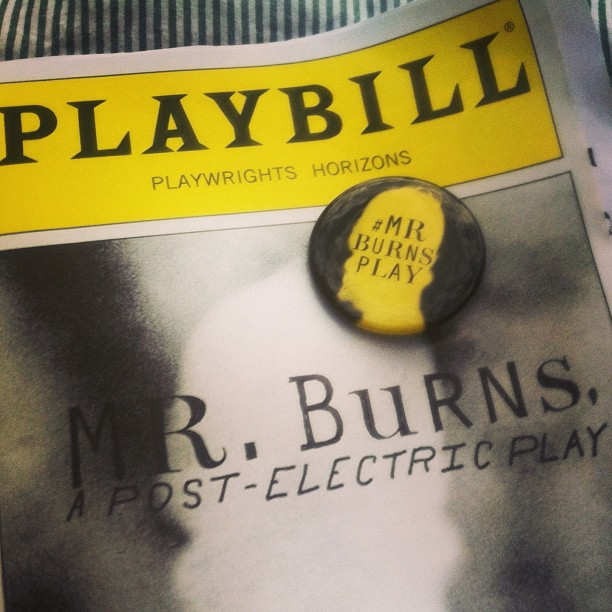 Saw #MrBurnsPlay and got another button to add to my collection! Exxxxcellent...