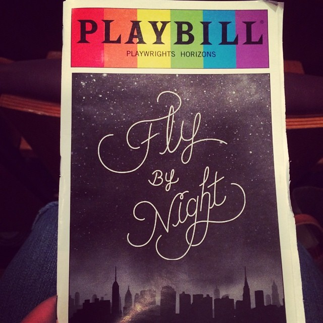 starting my vacation right: seeing #FlyByNightPH @phnyc