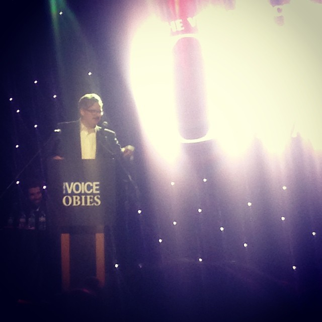 @conjohnlee just won an Obie Award! So incredibly well deserved for #watsonplay @memorycookie & @phnyc