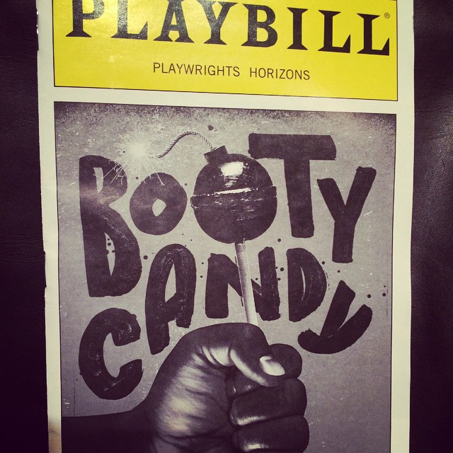 I AM SO EXCITED.  I love this play so much! #bootycandy #playwrightshorizon