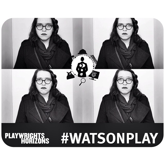 Seeing this show all by myself... #playwrightshorizons #watsonplay #sadselfies