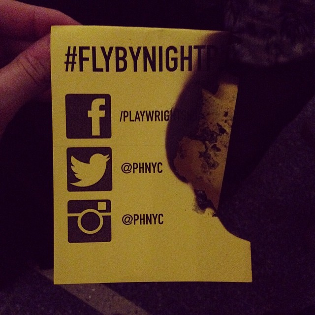 #flybynightph is #blowingup. #hottestshowintown #thisshowisonfire #fired @phnyc