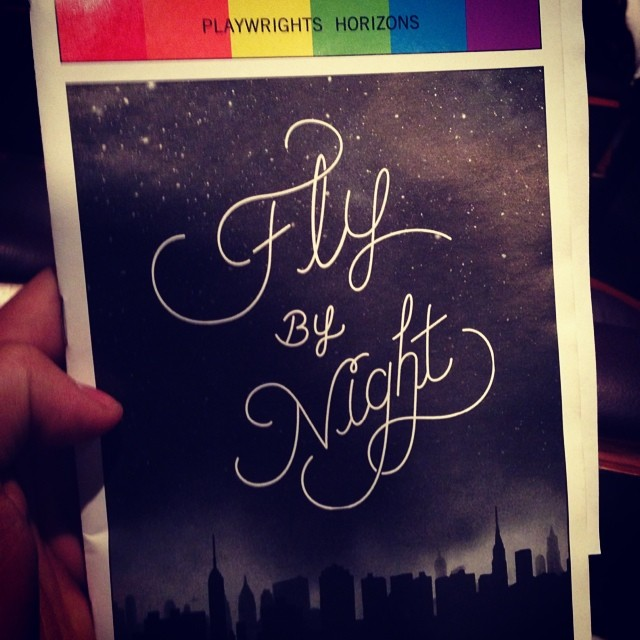 #flybynightph tonight with @taylizlou! Could not be more excited to revisit this brilliant piece of theatre I first saw 3 years ago at Theatreworks in CA. Everyone needs to see this show. #itruststars #originaltheatre