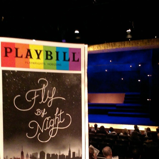 Fly By Night at Playwrights Horizons. #flybynight #flybynightph #playwrightshorizons #tonightsbill