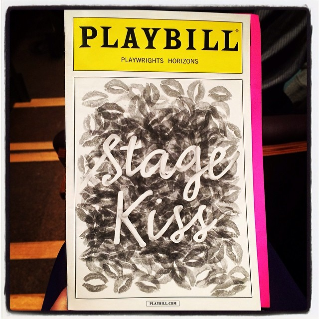 New Sarah Ruhl play...so excited! #StageKiss