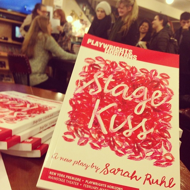 A little #StageKiss, a little Sarah Ruhl, a whole lot of excitement. @phnyc