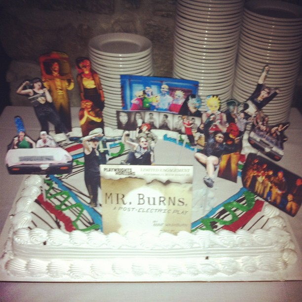 Happy opening #MrBurnsPlay!