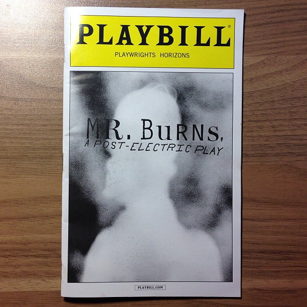 Of course I saw this. #mrburnsplay