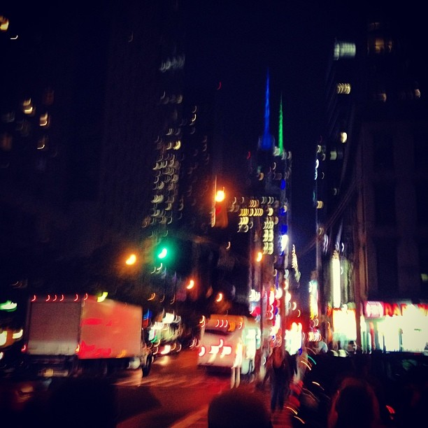 Hello, Times Square :) #NighTOutOnTheTown #MrBurnsParty #PHTS #QueenOfHashtags