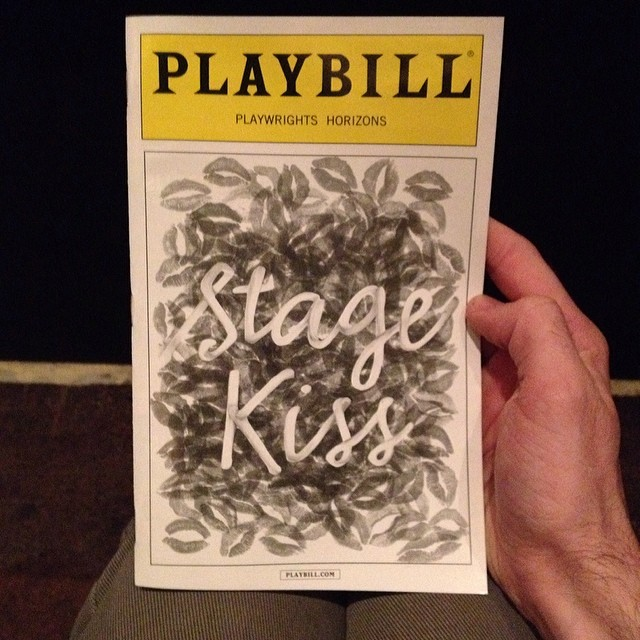 \U0001f618 #stagekiss #tepper #nyc