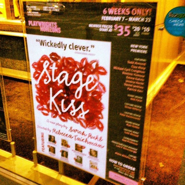 #StageKiss is on sale now!  As soon as the #polarvortex subsides, come on down to Ticket Central or visit us online at ticketcentral.com.